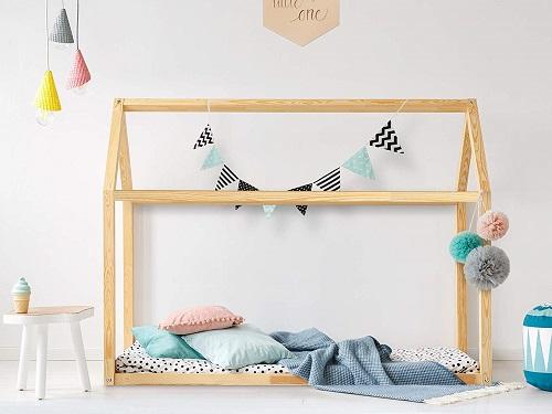 ofertas cama casa niño Montesori comprar