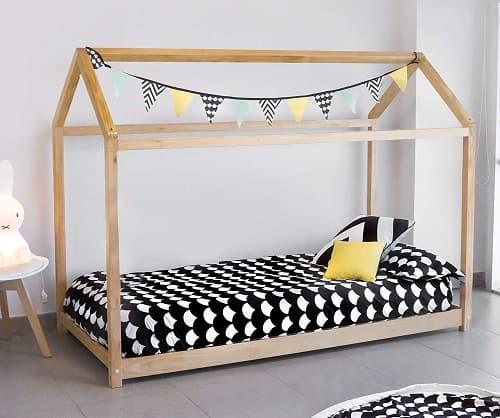 cama casita de madera precio