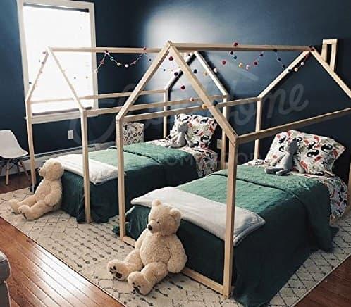 cama casita montessori precios