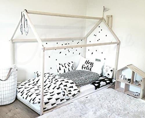 cama niño montessori