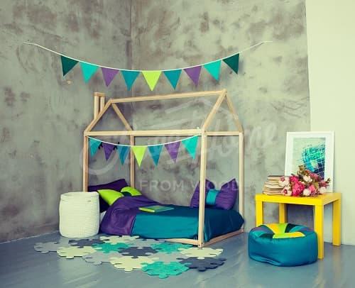 precios cama casita montessori