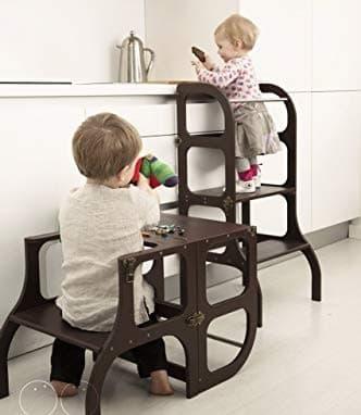 torre de aprendizaje Montessori