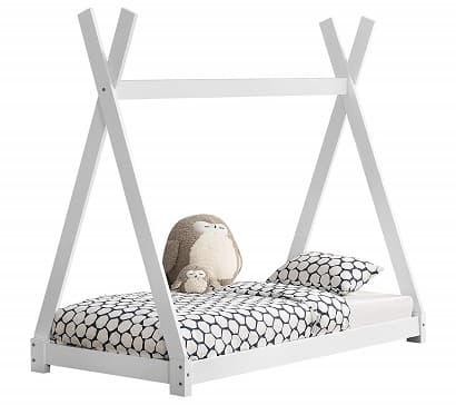 cama tienda tipi montessori