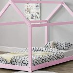 cama casita para niña
